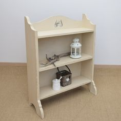 Antique oak bookcase painted in Annie Sloan's 'Old Ochre' chalk paint. Available from Charlotte Jones Interiors. Contact us: sales@charlottejonesinteriors.com