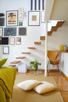floating stairs... (if you dare, that is)