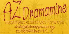 AZ Dramamine font download