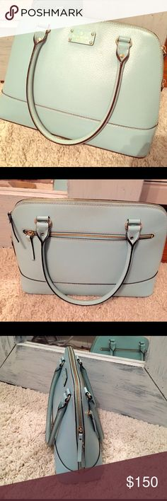 Kate Spade Wellesley in a robin blue color. Kate Spade Wellesley in a robin blue color. So cute for spring and summer! Great condition! kate spade Bags
