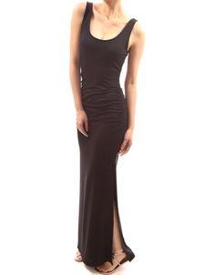 PattyBoutik Runched Sleeveless Tank Spring Summer Beach Sun Maxi Dress $35.00 (save $1.99)