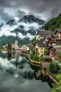 Austria.. amazing that there's a place out there that looks like this .