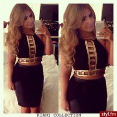 Pretty hair and very goddess vibe dress