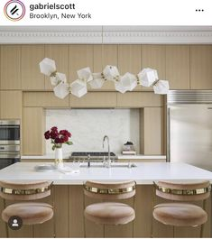 Beautiful Kitchen Designs, Beautiful Kitchens, Columbia Heights, Lighting Concepts, Polished Brass, Bar Stools, Interior Design, Frame, Modern