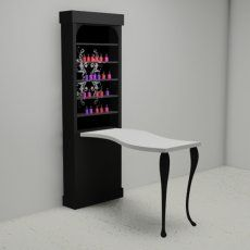Tulle manicure table is perfect for your home!