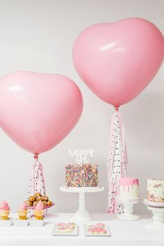 This sprinkle birthday party is as cute as can be! With plenty of colorful decorations and sweet treats, this celebration inspiration has all the creative ideas you need to make your little girl's day memorable.