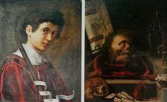 Ritratto maschile: recto - verso (1604; Bodnant, Collezione Aberconway)