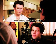 """Jonas L.A lovee it and he's right. I miss this show soo much that I have been watching reruns on YouTube because that is how much I love this show. I think that my favorite episode is when he sang """"Your biggest fan"""" to Macy. Like why couldn't I have been her"""