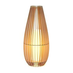 Pendant Ceiling Light with Round Wood Shade- JC Penney channeling ...