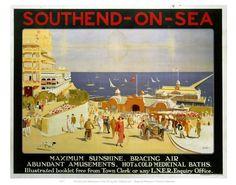 Southend On Sea Maximum Sunshine Art Print