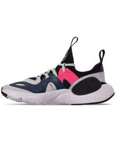 8270f67ccbcc3b Nike Boys  Huarache E.d.g.e Casual Sneakers from Finish Line - Black 6.5  Huaraches