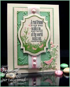 A Real Friend CC365 by justwritedesigns - Cards and Paper Crafts at Splitcoaststampers