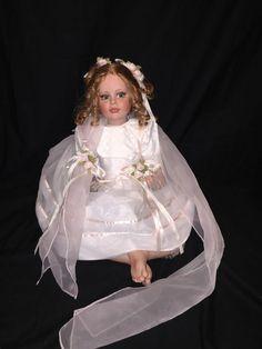 """Fayzah Spanos RARE Doll """"SHEER ELEGANCE"""" #166 / 300,  1999 #FayzahSpanos #Dolls"""