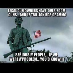 Second Amendment - Do not trust a government that does not trust you with a gun.