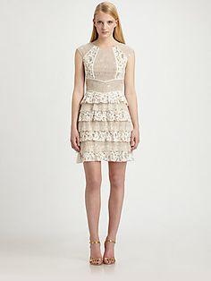 BCBGMAXAZRIA Kayla Lace Dress