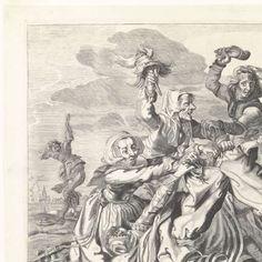 De strijd om de broek, Cornelis van Kittensteyn, Broer Jansz (Den Haag), 1610 - 1663 - vrouwen-Verzameld werk van LANijmegen - Alle Rijksstudio's - Rijksstudio - Rijksmuseum