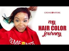 VLOG | I'm Coloring/Dyeing My Natural Hair (Part One) - YouTube