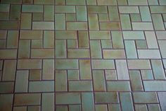 Our Craftsman square tile celebrates horizontal lines and landscape-inspired color palettes. Discover the unique appearance of handmade Craftsman style tiles. Ceramic Floor Tiles, Mosaic Tiles, Mosaics, Installing Tile Floor, Mercury, Craftsman, Repurposed, Ceramics, Projects