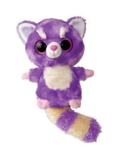 HAPPEE- From the award winning YooHoo & Friends franchise comes this amazingly cute red panda! With their soft touch, cute designs, and trademark sparkly eyes, YooHoo & Friends are great fun for anyone! Cute Designs, Puppets, Little Ones, Aurora, Pikachu, Teddy Bear, Purple, Toys, Friends