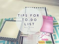 To Do List Organization Tips | New You Week Four - YouTube