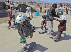 12 Awesome Photos Of Young Afghans Skateboarding