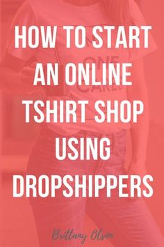 Click for more info! How to start a t-shirt shop using clothing dropshippers, on-demand printers and order fulfillment. Start a tshirt shop with Shopify's dropshipping providers. Upload your tee shirt designs and let shopify handle the printing and product shipping.