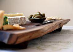 walnut charcuterie platter
