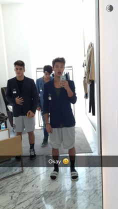 Cameron with the twins