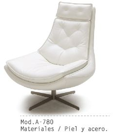 Mueble Interior Mod. A-780 #muebles #sillon #salas #minimalista