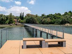 Garden Bridge, Nature, Outdoor Structures, Tours, Instagram, Small Island, Malaysia, Asia, City