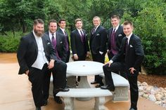 Handsome groomsmen of Stonebrook. July 2014. #StonebrookWeddings
