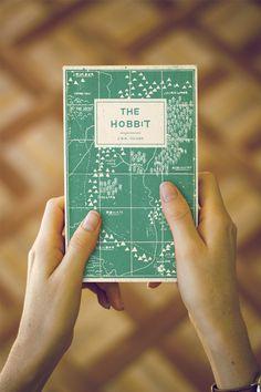 The Hobbit Book Re-cover - Buzz Studios | Brisbane graphic design and illustration