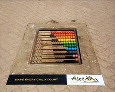 Aseema Charitable Trust: Education for Street Children - Advertising Agency: 141 Sercon, Mumbai, India