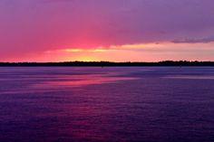 Sunset at Clayton, NY