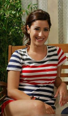 "Hazal Kaya in ""A.Ş.K"" TV Series 2013/2014"