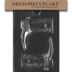 Dress My Cupcake DMCK081 Chocolate Candy Mold, Cowboy Boots for Specialty Box: Kitchen & Dining: Amazon.com