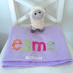 Image result for purple baby blanket