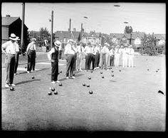 bowling vintage - Lawn Bowling