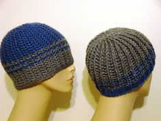 reversible beanie: http://www.ravelry.com/patterns/library/reversible-strands-for-men-and-women-too