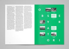 Quaderns Magazine: Editorial Design by TwoPoints.Net | Inspiration Grid | Design Inspiration
