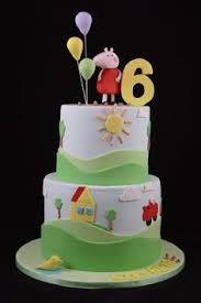 bolos decorados da peppa