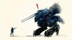 Snake vs Metal Gear