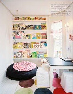 SHELTER: For The Kiddies - Wall of Books