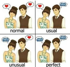 Geek love-maybe not Star Wars but other nerdy stuff lol
