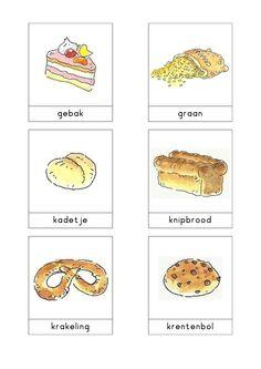 Woordkaarten Bas 'De bakkerij' 2