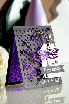 View Blog Post | Spellbinders - Birthday Dragonfly
