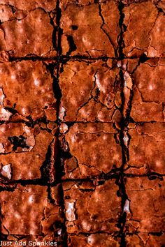 A completely from scratch recipe for the best homemade fudge brownies. These brownies are rich, thick and incredibly fudgy. You won't need another brownie recipe after you've tried this one! #justaddsprinkles #brownies #chocolate