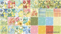 Florabunda Charm Pack - Benartex Fabrics - Benartex