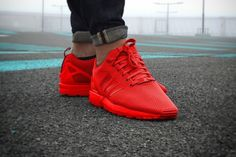 zx flux red - Google Search