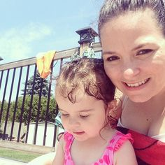 Pool time with my girl